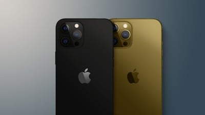 iphone 13 matte black and bronze feature